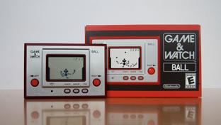 Mr. Game & Watch electronic toy