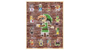Link Between Worlds poster set Ensemble d affiches The Legend of    A Link Between Worlds Poster